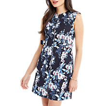 Buy Oasis Tropical Orchid Shift Dress, Multi Online at johnlewis.com