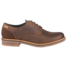 Buy Barbour Bramley Derby Shoes, Dark Brown Online at johnlewis.com