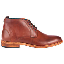 Buy Barbour Benwell Leather Chukka Boots Online at johnlewis.com