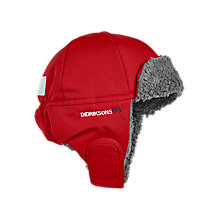 Buy Didriksons Children's Biggles Trapper Hat, Red Online at johnlewis.com