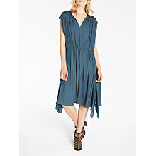 Buy AND/OR Thea Tie Dress, Teal Online at johnlewis.com