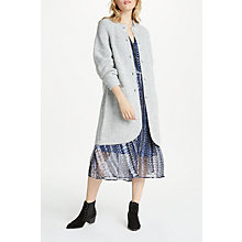 Buy AND/OR Portobello Long Cardigan, Grey Online at johnlewis.com
