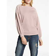 Buy AND/OR Brita Blouson Sleeve Sweat Top Online at johnlewis.com