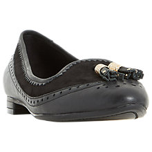 Buy Dune Gambel Flat Tassel Loafers Online at johnlewis.com