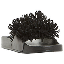 Buy Dune Black Lagoon Tassel Slider Sandals Online at johnlewis.com