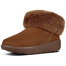 Buy FitFlop Mukluk Shorty 2 Ankle Boots, Tan Online at johnlewis.com