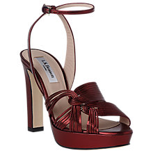 Buy L.K. Bennett Leighton Block Heeled Sandals Online at johnlewis.com
