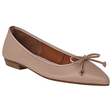 Buy L.K. Bennett Cici Pointed Toe Ballet Pumps Online at johnlewis.com
