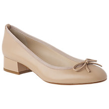 Buy L.K. Bennett Danielle Block Heeled Court Shoes, Trench Online at johnlewis.com