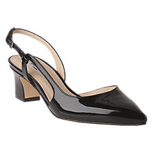Buy L.K. Bennett Aurora Asymmetric Block Heeled Court Shoes Online at johnlewis.com