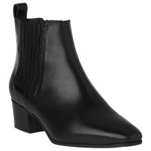 Buy L.K. Bennett Hariett Block Heeled Ankle Boots Online at johnlewis.com