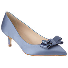 Buy L.K. Bennett Esme Bow Pointed Toe Court Shoes Online at johnlewis.com