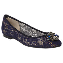 Buy L.K. Bennett Jessica Jewelled Pumps Online at johnlewis.com