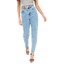 Buy Miss Selfridge Mom Jeans Online at johnlewis.com