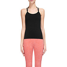 Buy Whistles Longline Halter Sports Top, Black Online at johnlewis.com