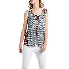 Buy White Stuff Upbeat Vest Top, Waterfall Blue Online at johnlewis.com