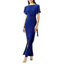 Buy Coast Conny Jersey Tie Maxi Dress, Cobalt Blue Online at johnlewis.com