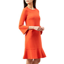 Buy Hobbs Tulip Dress, Sunset Orange Online at johnlewis.com