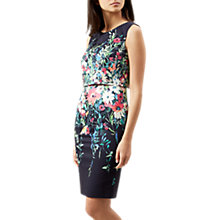 Buy Hobbs Molly Dress, Navy/Multi Online at johnlewis.com