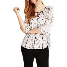 Buy Studio 8 Keely Top, Pink/Black Online at johnlewis.com