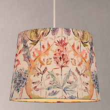 Buy Voyage Colscott Pomegranate Tapered Lampshade, Multi Online at johnlewis.com