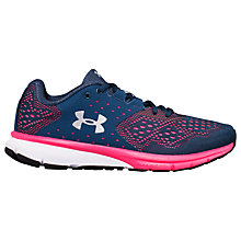 Buy Under Armour Charged Rebel Women's Running Shoes, Navy Online at johnlewis.com