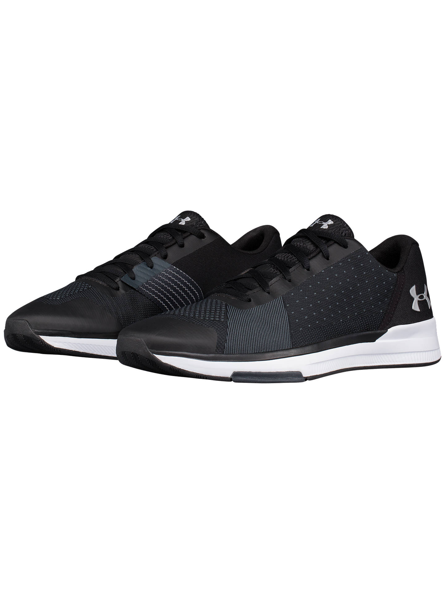 6e6f6ade Under Armour Showstopper Men's Training Shoes, Black at John Lewis ...