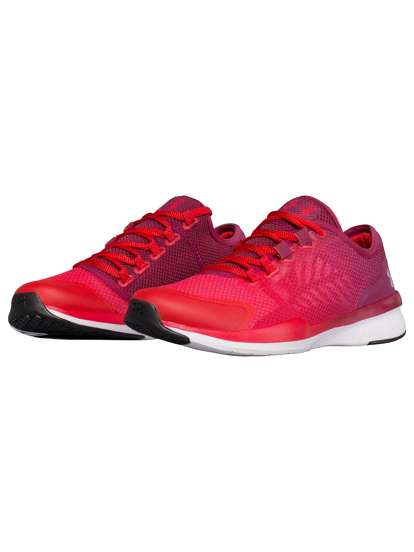 Under Armour Charged Push Women'S Training Shoes Red At Under Armour Charged Push Shoes