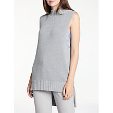 Buy Modern Rarity Sleeveless Longline Jumper, Grey Online at johnlewis.com