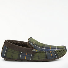 Buy Barbour Monty Tartan Slippers Online at johnlewis.com