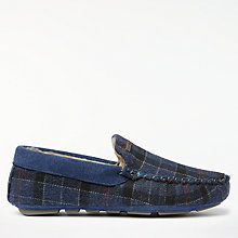 Buy Barbour Thinsulate Tartan Slippers Online at johnlewis.com
