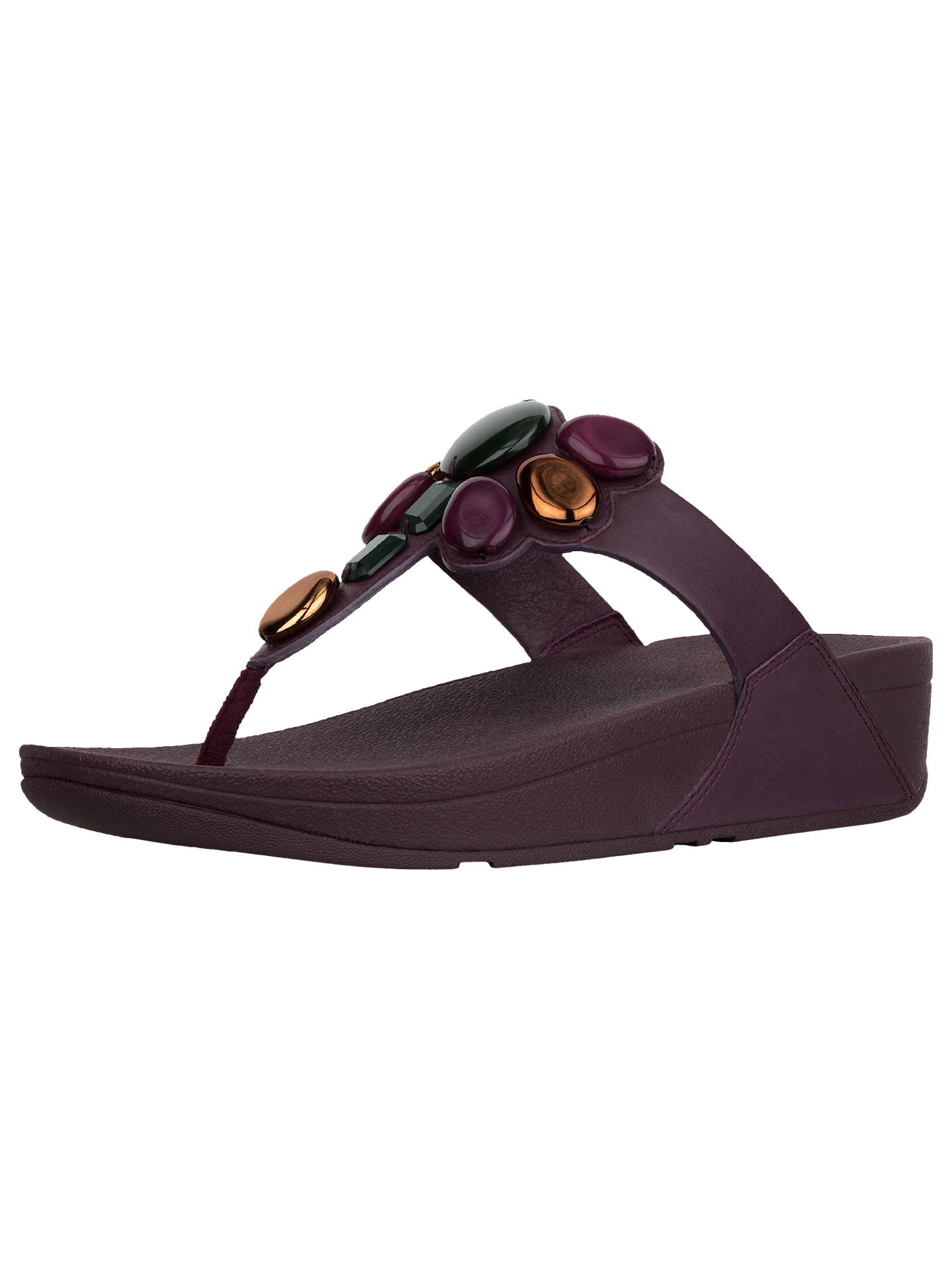 8e3dbe67704 Buy FitFlop Honeybee Jewelled Toe Post Sandals