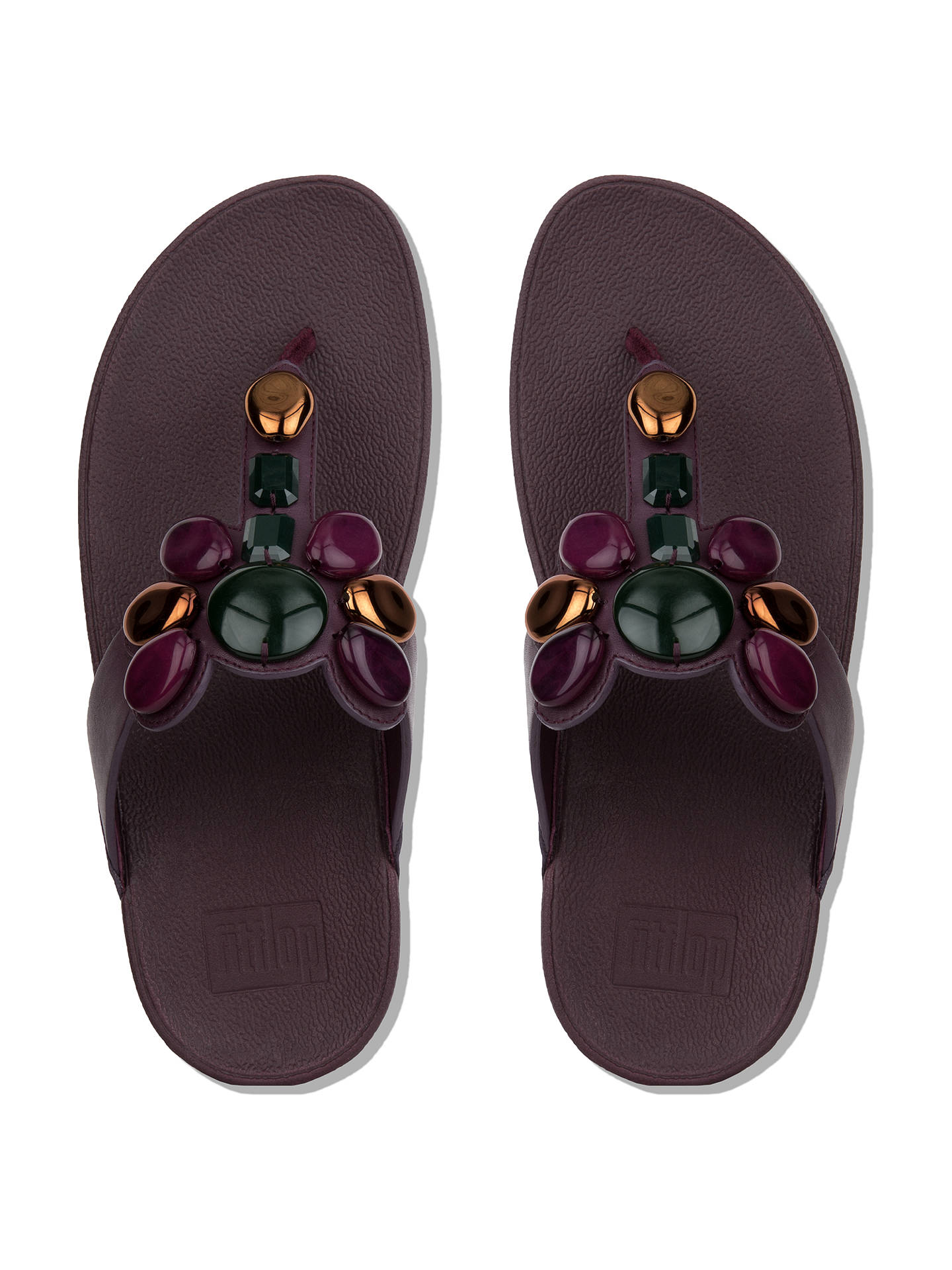 373641844fa ... Buy FitFlop Honeybee Jewelled Toe Post Sandals