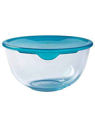 Pyrex Prep and Store Glass Bowl with Lid, Clear