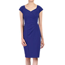 Buy Jolie Moi Crossover Front Ruched Dress Online at johnlewis.com