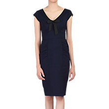 Buy Jolie Moi V Neck Contrast Trim Wiggle Dress Online at johnlewis.com