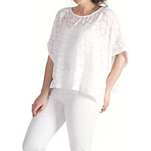 Buy Chesca Pebble Burnout Top Online at johnlewis.com
