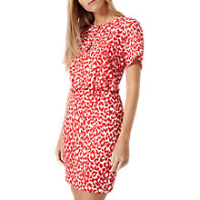 Buy Damsel in a dress Strawberry Leopard Dress, White/Red Online at johnlewis.com