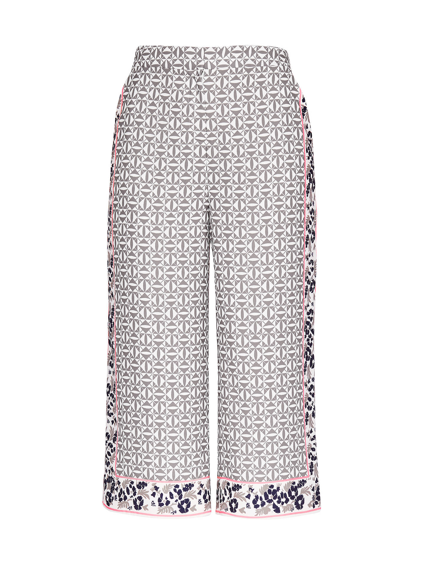 62901ee26e27 ... Buy Ted Baker Colour By Numbers Kalid Geo Floral Print Wide Leg Trousers