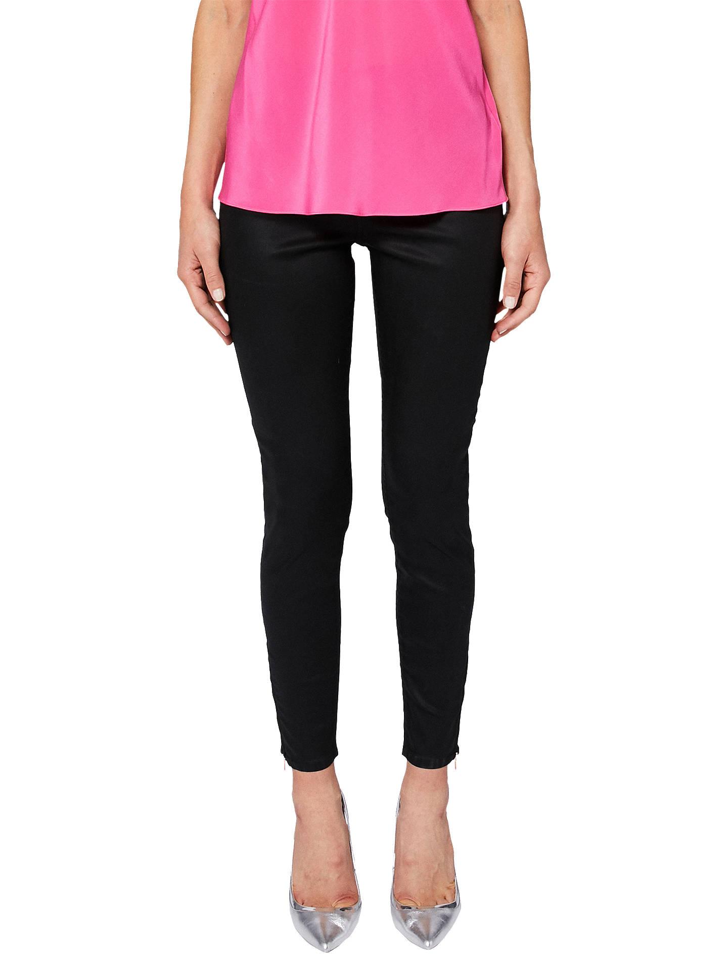 56b1fe51d0faf7 Buy Ted Baker Dalilah Wax Coated Skinny Denim Jeans