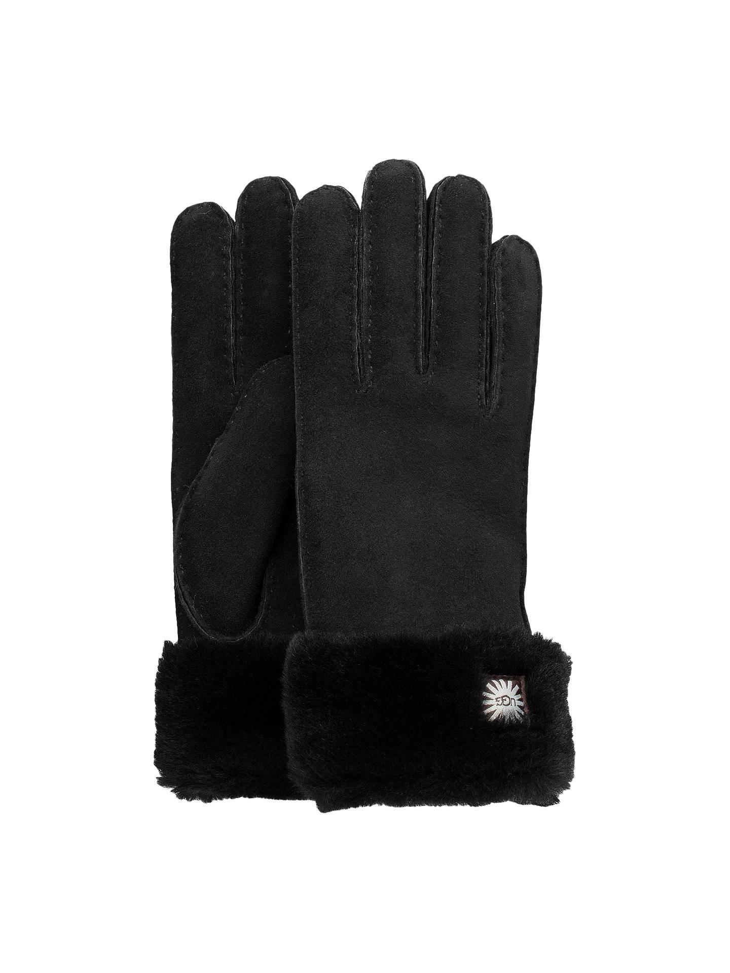 237d6d8e23a UGG Sheepskin Turn Cuff Gloves at John Lewis & Partners
