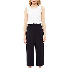 Buy Ted Baker Eloweez Wide-Leg Bow Detail Jumpsuit, Ecru Online at johnlewis.com