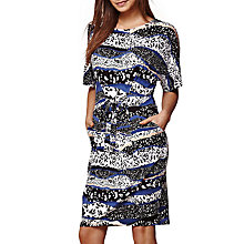 Buy Yumi Graphic Jersey Dress, Navy Online at johnlewis.com