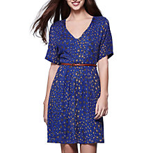 Buy Yumi Patchwork Ditzy Dress, Cobalt Blue Online at johnlewis.com