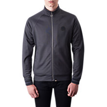 Buy Pretty Green Milner Track Top, Grey Marl Online at johnlewis.com