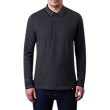 Buy Pretty Green Barton Polo Shirt, Dark Grey Marl Online at johnlewis.com