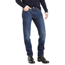 Buy Levi's 501 Original Jeans, Fire Island Warm Online at johnlewis.com