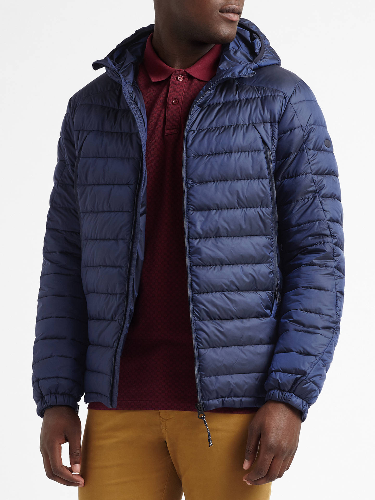 39c782d202c55 BuyScotch   Soda Puffer Jacket, Night, S Online at johnlewis. ...