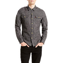 Buy Levi's Jackson Worker Shirt, Dark Heather Grey Online at johnlewis.com