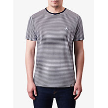 Buy Pretty Green Summer Bee T-Shirt, Navy Online at johnlewis.com